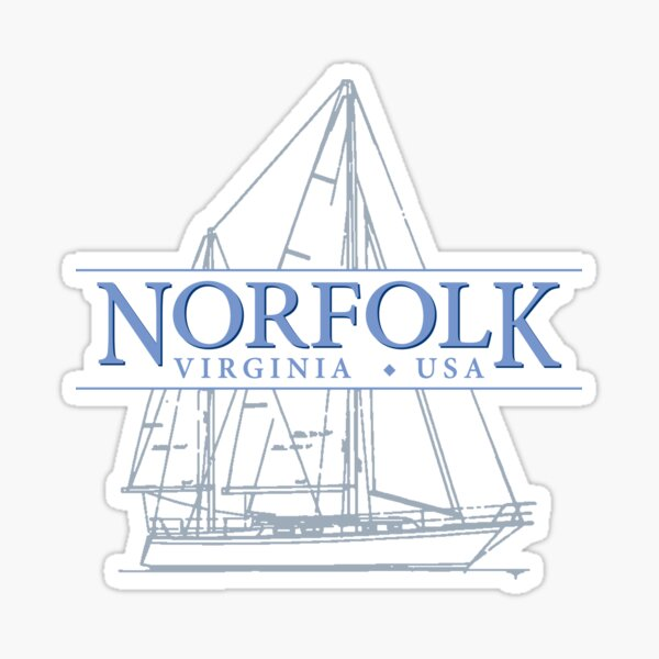 Norfolk Virginia Sticker
