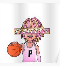 Lil Pump esskeetit | box logo Poster