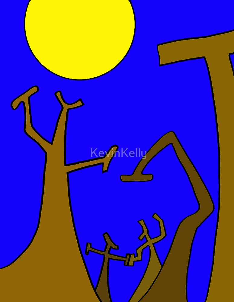 DANCING TREES  by KevinKelly