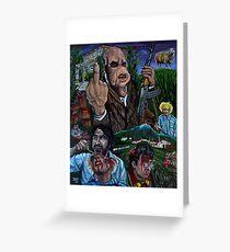 Bad Taste (Peter Jackson) Greeting Card
