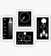 MINIMALISM SET 1 Sticker