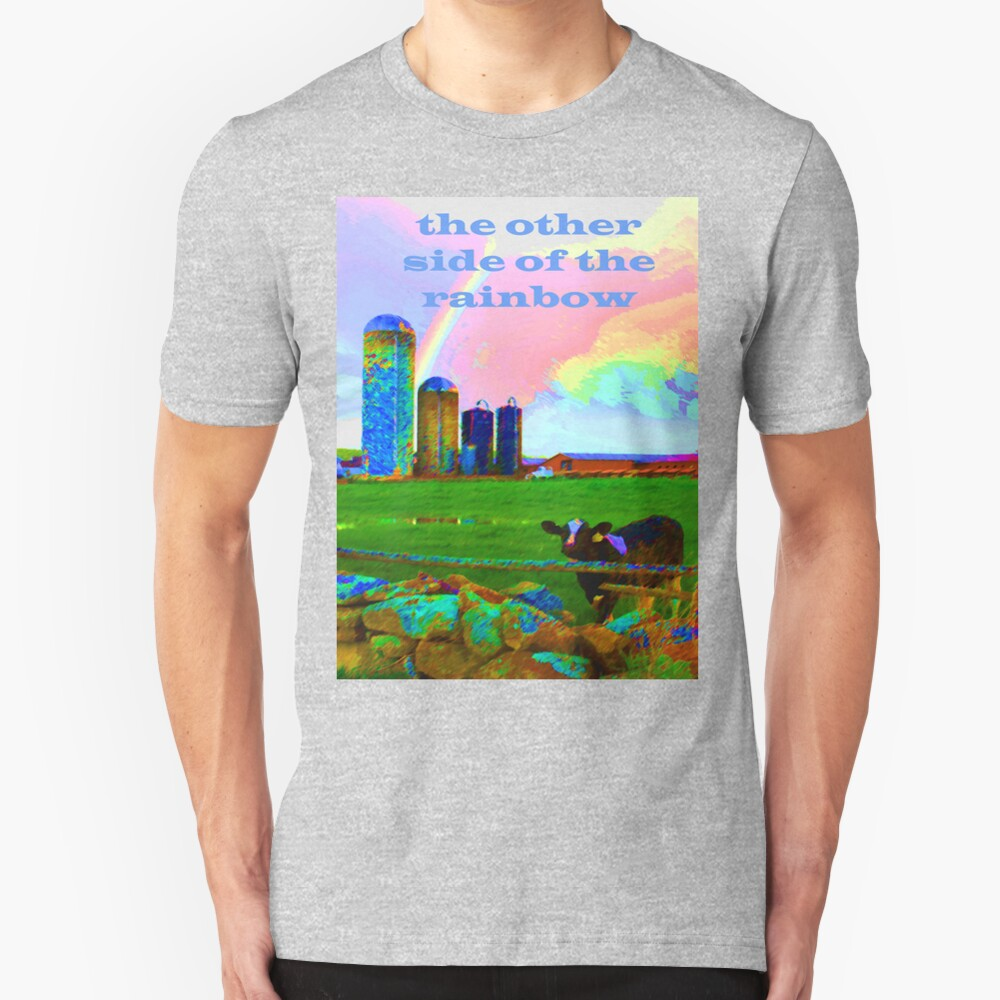 the other side of the rainbow Slim Fit T-Shirt