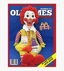 Ronald McDonald Cover Photographic Print