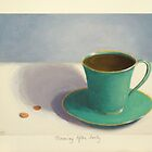 Morning After Forty is Advil and coffee by PhyllisGAndrews