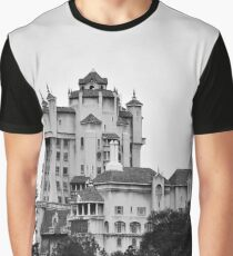 The Backside of the Hollywood Tower Hotel Graphic T-Shirt