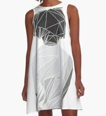 J. Cole - Nur für Ihre Eyez A-Linien Kleid