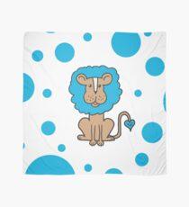 Blue Lion Scarf