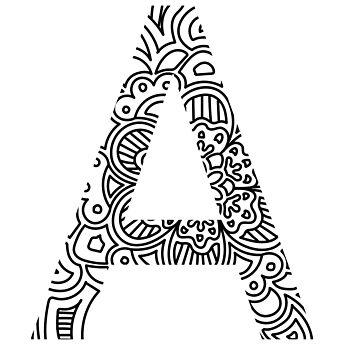 Alpha - Greek Letter Sorority Sticker by susyj