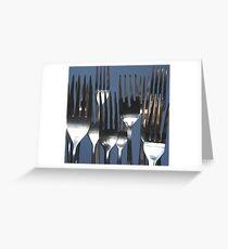 Forks Greeting Card