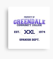 Greendale Spanish Dept. Canvas Print