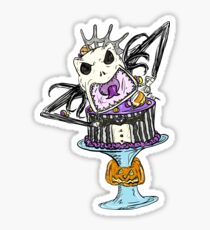 Pumpkin King Cake Sticker