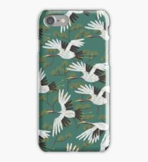 Japanese Crane Pattern iPhone Case/Skin