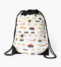 Süßes Sushi-Muster Rucksackbeutel