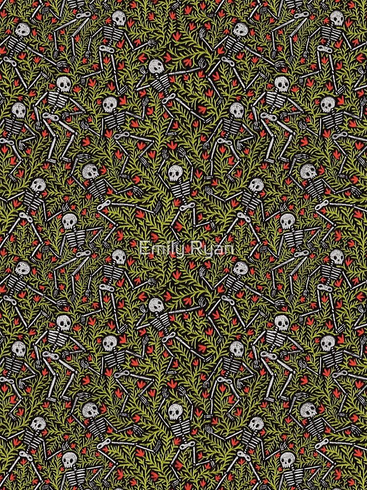 Dancing Skeletons Pattern by emilyryan