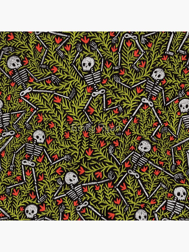 Dancing Skeletons Pattern by emilyryan