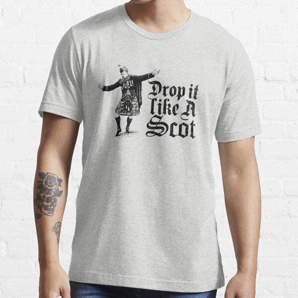 Drop it Like A Scot Funny Scottish Dance Meme Essential T-Shirt