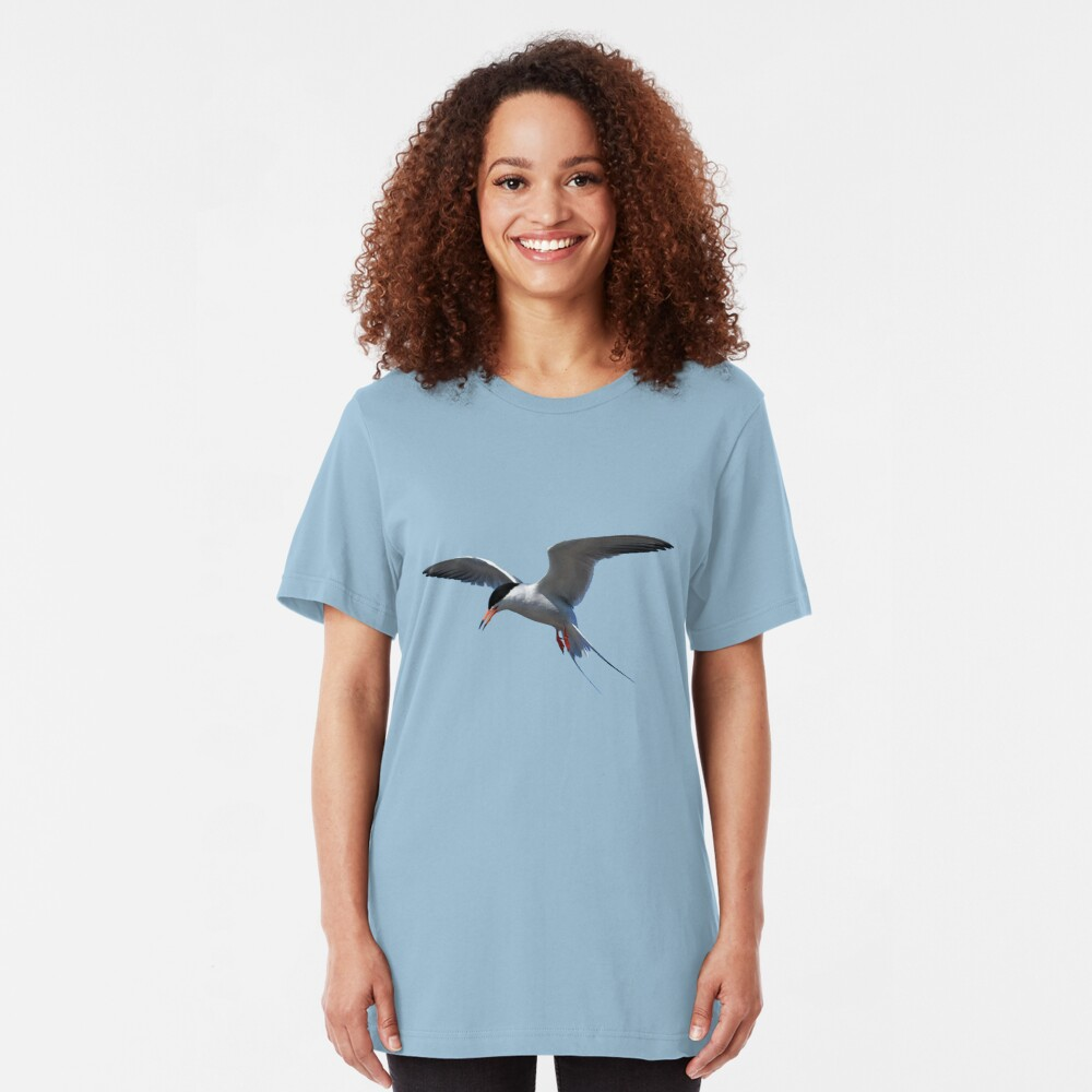 Californian Least Tern Slim Fit T-Shirt