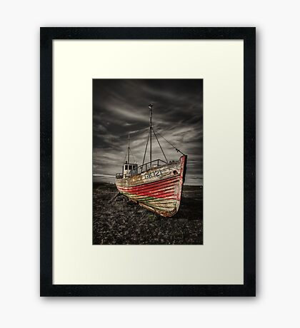 The Ghost Ship Framed Print