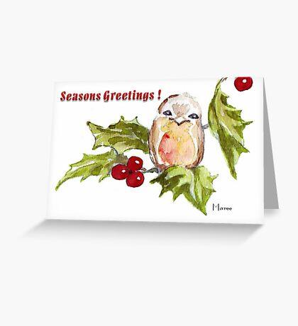 1 Little Bird - Season's Greetings! Greeting Card