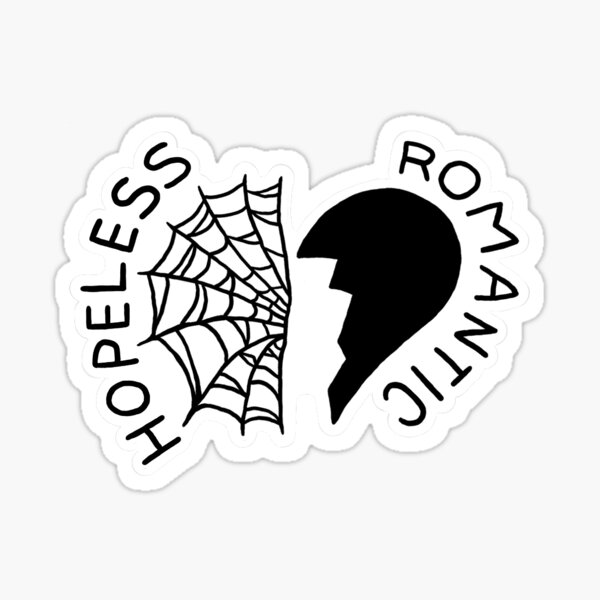Frank Iero - hopeless romantic tattoo Sticker