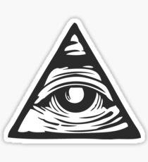 Illuminati eye Sticker