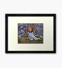 Little angels Framed Print