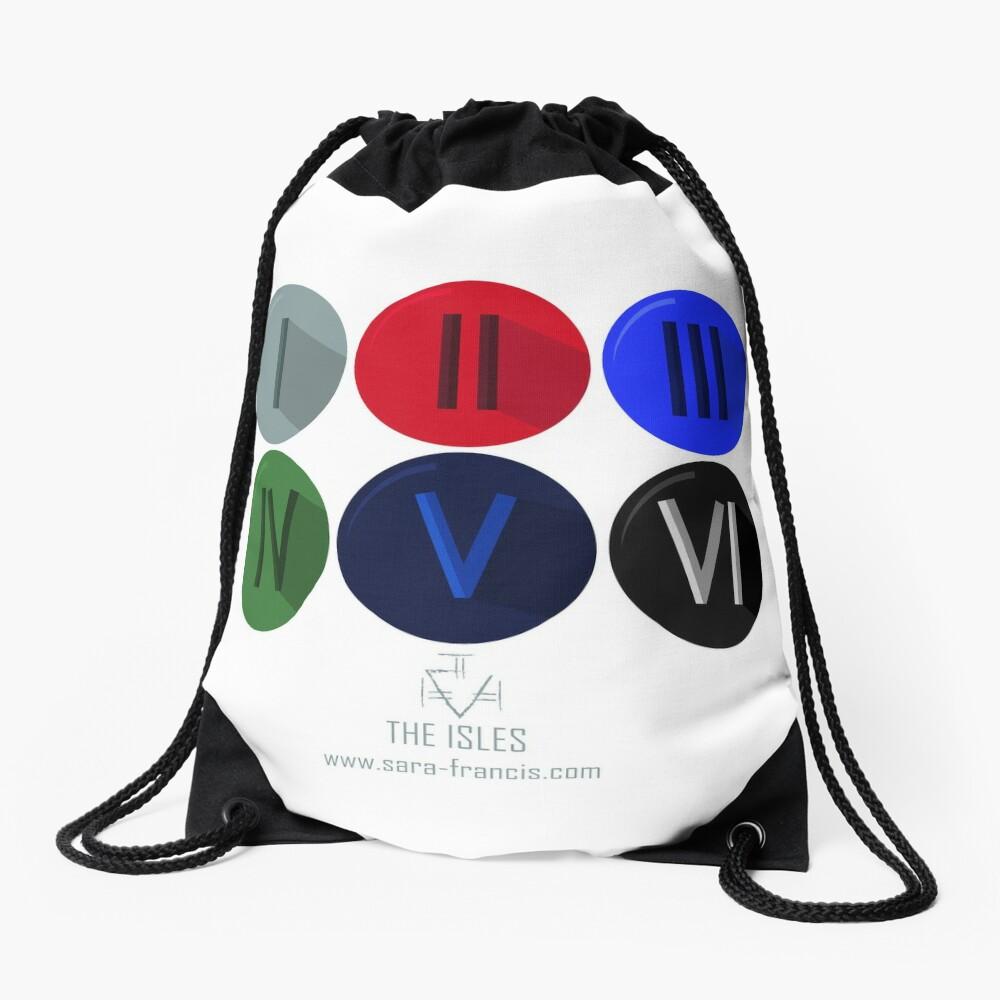 The Isles Emblems Drawstring Bag