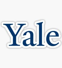 Yale! Sticker