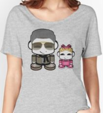 Mr. Boutit & Lil O'BOT Toy Robot Women's Relaxed Fit T-Shirt