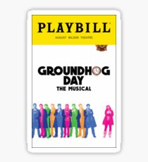 Groundhog Day Sticker