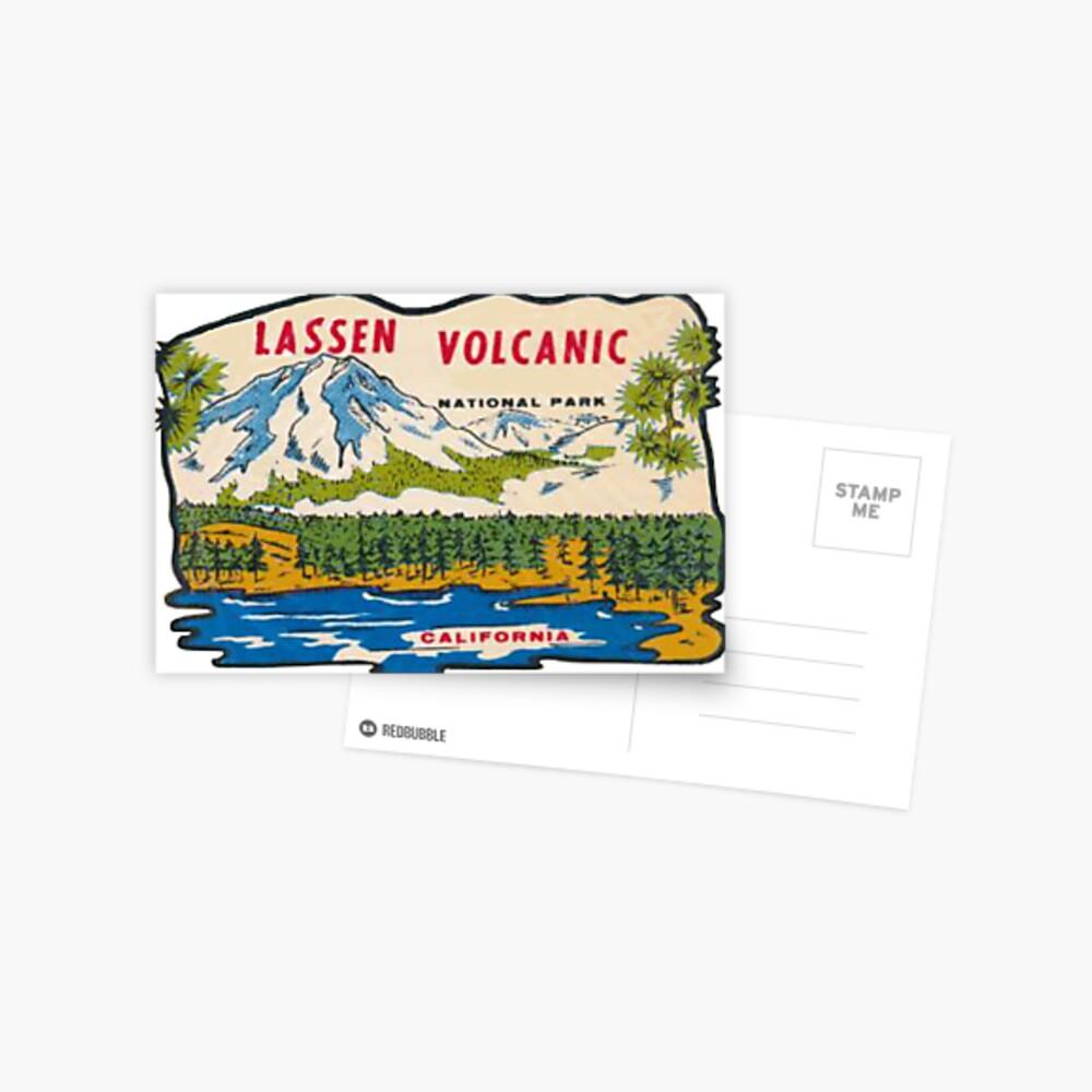National Park Decal Lassen Volcanic National Park Sticker