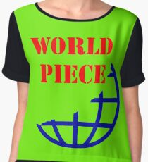 WORLD PIECE Chiffon Top