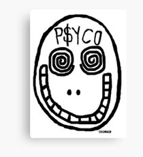 """PSYCO"" Canvas Print"