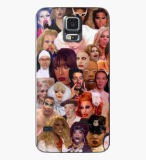 Funda/vinilo para Samsung Galaxy Collage Iconic Drag Queens