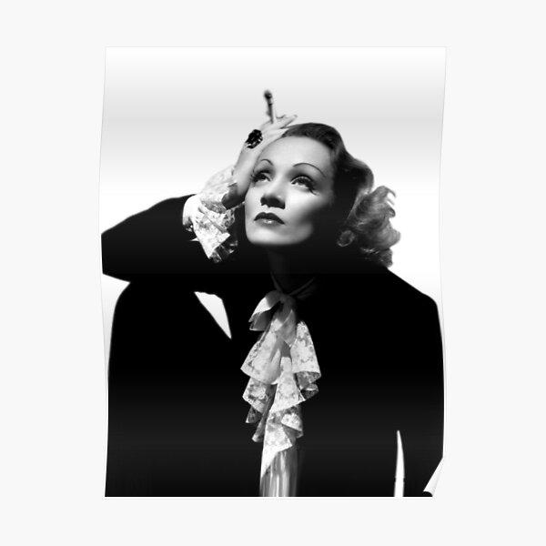 Angel Marlene Dietrich vintage movie poster #4