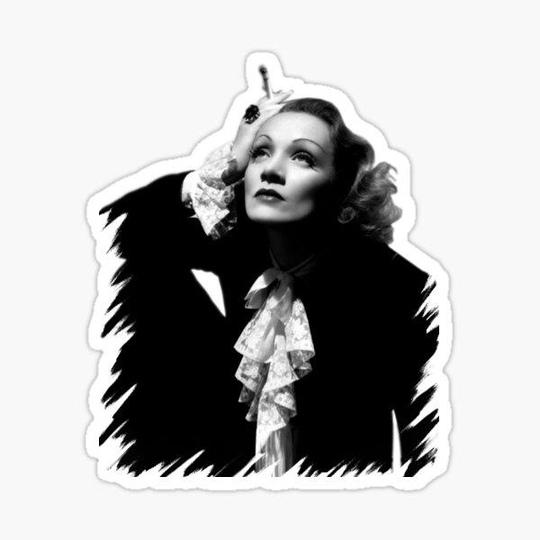 Marlene Dietrich Sticker