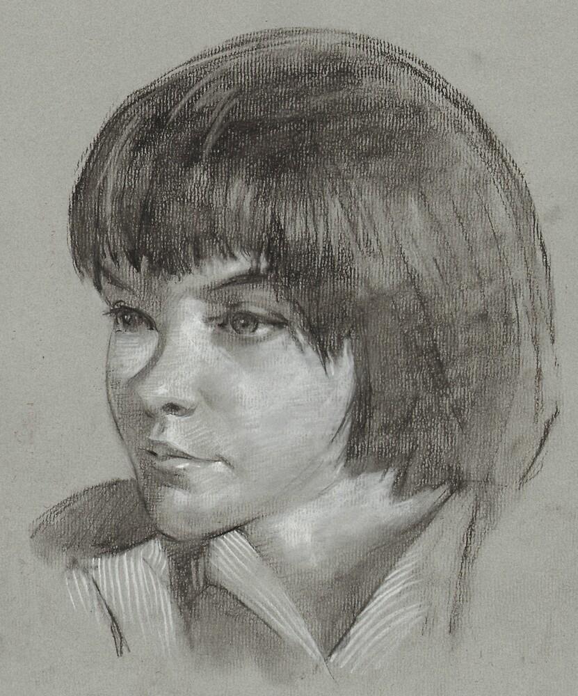 """To Kill A Mockingbird Illustration (Scout)"" by Josef ..."