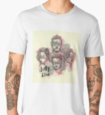 One Direction 23rd of July Men's Premium T-Shirt