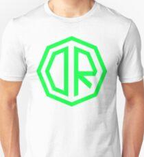 Camiseta ajustada Dr. Octagon Octagynacologist Mowax Logo replica imprimir verde