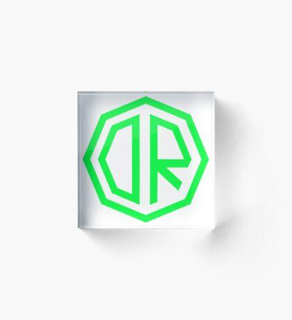 Dr. Octagon Octagynacologist Mowax Logo replica print green Acrylic Block