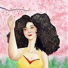 Cherry Blossom Queen by Nahimsa