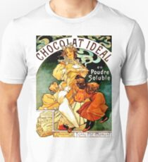 Chocolate art nouveau vintage label T-Shirt