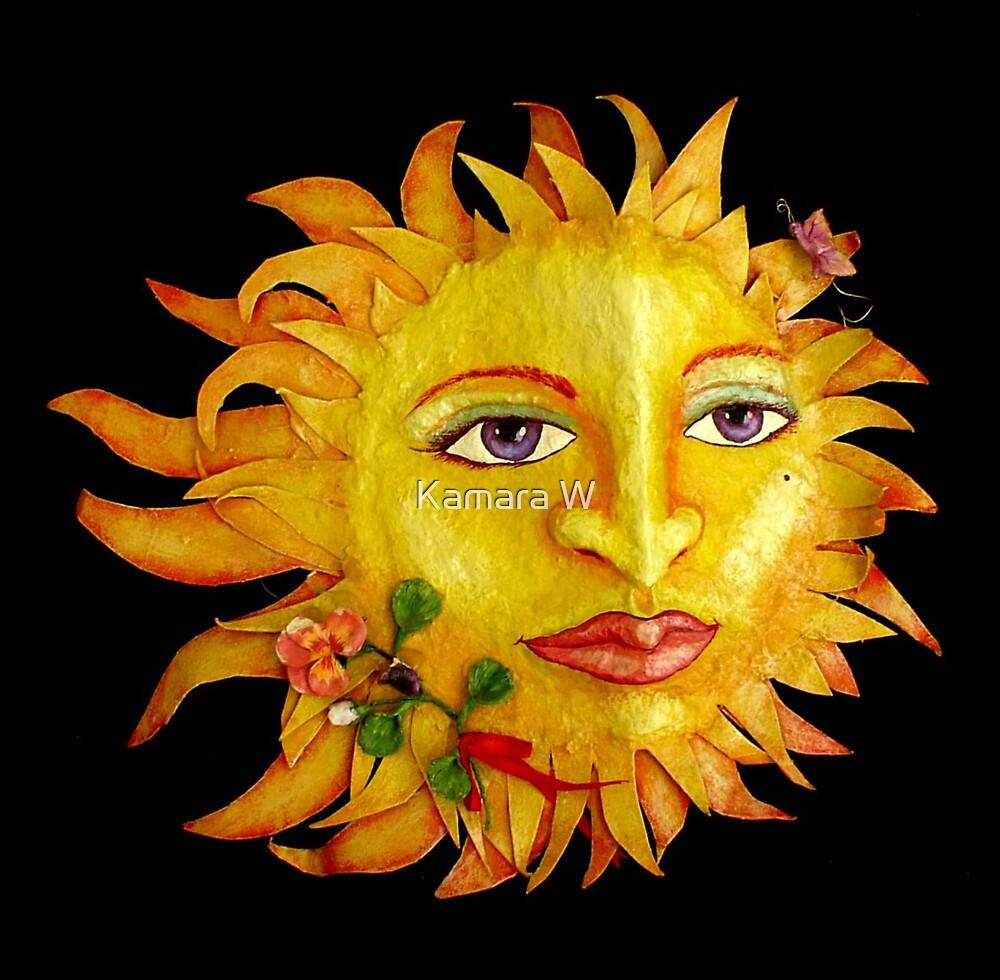sunny face by marak
