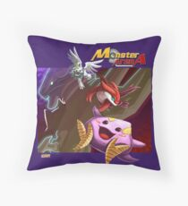 Monster Arena #3 Throw Pillow