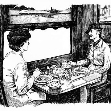 Ladies Lunch by JoWaite