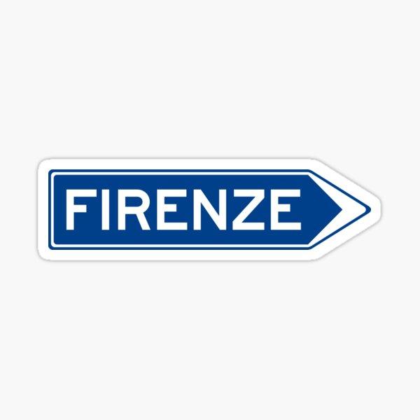 Direction - Firenze Sticker