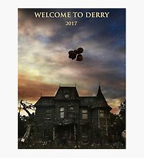 welcome to derry Photographic Print