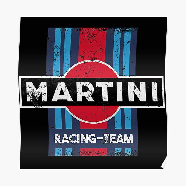 Martini Racing Team Williams  Reproduction Garage Sign