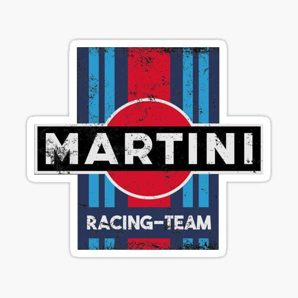 équipe de course de martini Sticker