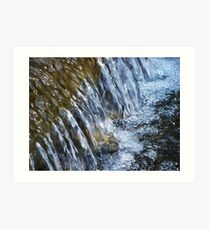 Tumbling Waters Art Print